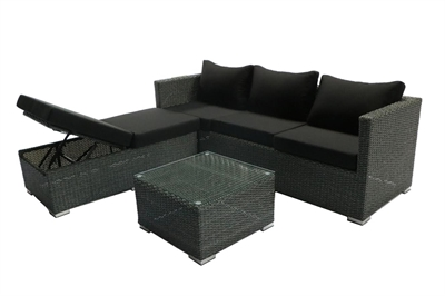 Model Ribeira Mixed sort polyrattan.