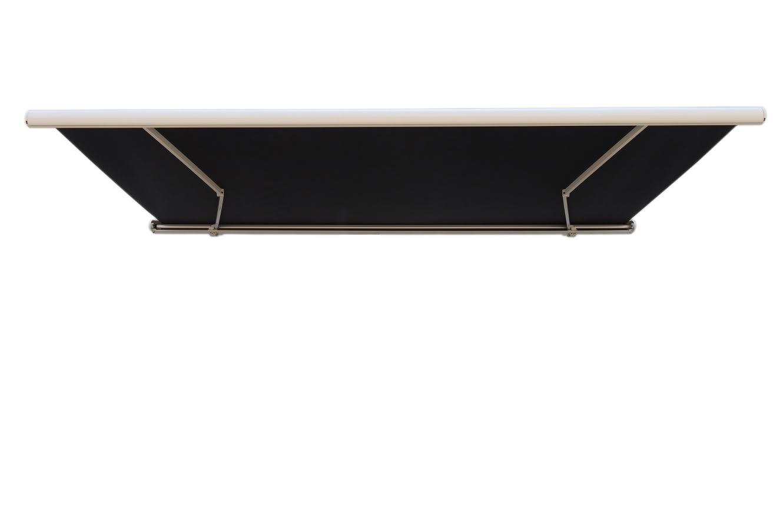 4m markise sort. Black Bedroom Furniture Sets. Home Design Ideas
